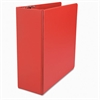 "Universal D-Ring Binder, 4"" Capacity, 8-1/2 x 11, Red"