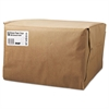 General 1/6 BBL Paper Grocery Bag, 52lb Kraft, Standard 12 x 7 x 17, 500 bags