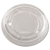 Dart Complements Portion/Medicine Cup Lids, Plastic, Clear, 2500/Carton