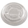 Dart Portion/Soufflé Cup Lids. Fits .5-1oz Cups, Clear, 2500/Carton