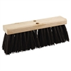 "Street Broom Head, 16"" Wide, Polypropylene Bristles"