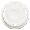 Cappuccino Dome Sipper Lids, Fits 12-24oz Cups, White, 1000/Carton