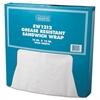 Bagcraft Grease-Resistant Paper Wrap/Liner, 12 x 12, White, 1000/Box, 5 Boxes/Carton