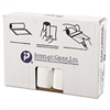 Inteplast Group High-Density Can Liner, 33 x 39, 33gal, 16mic, Clear, 25/Roll, 10 Rolls/Carton