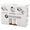 High-Density Can Liner, 38 x 58, 60gal, 19mic, Clear, 25/Roll, 6 Rolls/Carton