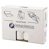 Inteplast Group High-Density Can Liner, 38 x 58, 60gal, 14mic, Clear, 25/Roll, 8 Rolls/Carton