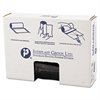 Inteplast Group Low-Density Can Liner, 43 x 47, 56gal, .9mil, Black, 25/Roll, 4 Rolls/Carton