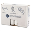High-Density Can Liner, 43 x 46, 60gal, 14mic, Clear, 25/Roll, 8 Rolls/Carton