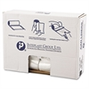 High-Density Can Liner, 24 x 31, 16gal, 7mic, Clear, 50/Roll, 20 Rolls/Carton