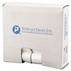 Low-Density Can Liner, 24 x 33, 16gal, .35mil, Clear, 50/Roll, 20 Rolls/Carton