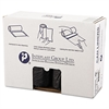 High-Density Can Liner, 40 x 48, 45gal, 22mic, Black, 25/Roll, 6 Rolls/Carton