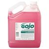 GOJO Bulk Pour All-Purpose Pink Lotion Soap, Floral, 1gal Bottle, 4/Carton