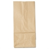 General #5 Paper Grocery Bag, 35lb Kraft, Standard 5 1/4 x 3 7/16 x 10 15/16, 500 bags