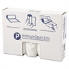 High-Density Can Liner, 40 x 48, 45gal, 12mic, Clear, 25/Roll, 10 Rolls/Carton