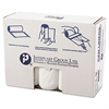 Inteplast Group High-Density Can Liner, 40 x 48, 45gal, 17mic, Clear, 25/Roll, 10 Rolls/Carton