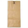 #16 Paper Grocery Bag, 57lb Kraft, Extra-Heavy-Duty 7 3/4 x4 13/16 x16, 500 bags
