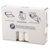 Inteplast Group High-Density Can Liner, 40 x 48, 45gal, 14mic, Clear, 25/Roll, 10 Rolls/Carton