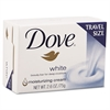 Dove White Travel Size Bar Soap with Moisturizing Lotion, 2.6oz, 36/Carton