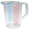 Rubbermaid Commercial Bouncer Measuring Cup, 32oz, Clear