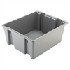 Rubbermaid Commercial Palletote Box, 19gal, Gray