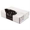 Linear Low Density Can Liner, 1.2 Mil, 43 x 47, Black, 10 Bags/Roll, 10 Rolls/CT