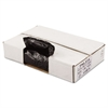 Penny Lane Perforated Coreless Roll Can Liner, 1.2 Mil, 33x39, Blk, 10 Bag/RL, 10 RL/CT