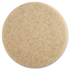 Boardwalk Ultra High-Speed Floor Pads, 19-Inch Dia., Natural Hair, Champagne, 5/Carton