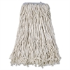 Cotton Mop Head, Cut-End, #32, White, 12/Carton