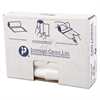 High-Density Can Liner, 30 x 36, 30gal, 11mic, Clear, 25/Roll, 20 Rolls/Carton