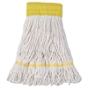 Boardwalk Mop Head, Super Loop Head, Cotton/Synthetic Fiber, Small, White, 12/Carton