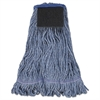Boardwalk Mop Head, Loop-End, Cotton With Scrub Pad, Large, 12/Carton