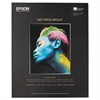 Epson Hot Press Bright Fine Art Paper, 17 x 22, Bright White, 25 Sheets