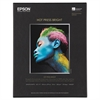 Epson Hot Press Bright Fine Art Paper, 8-1/2 x 11, Bright White, 25 Sheets
