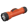 Bright Star WorkSafe Waterproof Flashlight, 2D (Sold Separately), Orange/Black