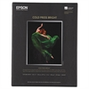Epson Cold Press Bright Fine Art Paper, 8-1/2 x 11, Bright White, 25 Sheets