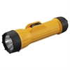 Bright Star Industrial Heavy-Duty Flashlight, 2D (Sold Separately), Yellow/Black