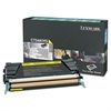 Lexmark X748H1YG High-Yield Toner, 10000 Page-Yield, Yellow