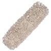 Boardwalk Mop Head, Dust, Cotton, 24 x 3, White