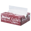 Marcal Eco-Pac Interfolded Dry Wax Paper, 6 x 10 3/4, White, 500/Pack, 12 Packs/Carton