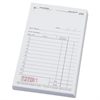 National Checking Company SalesBook, Two-Part Carbon, 3 1/2 x 5 5/8, 50 Checks/Pad