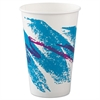 Jazz Paper Cold Cups, 16oz, 50/Bag, 20 Bags/Carton