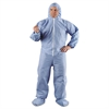 KleenGuard* A65 Hood & Boot Flame-Resistant Coveralls, Blue, 4X-Large, 21/Carton
