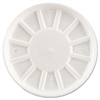 Dart Vented Foam Lids, Fits 6-32oz Cups, White, 500/Carton
