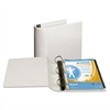 "Samsill Top Performance DXL Angle-D View Binder, 4"" Capacity, White"