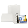 "Top Performance DXL Angle-D View Binder, 5"" Capacity, White"