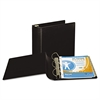 "Samsill Top Performance DXL Angle-D View Binder, 3"" Capacity, Black"