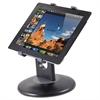 "Kantek Stand for 7"" to 10"" Tablets, Swivel Base, Plastic, Black"