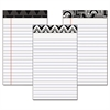 TOPS Fashion Legal Pads with Assorted Headtapes, 5 x 8, 50 Sheets, 6 Pads/Pack