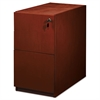 Luminary Series Wood Veneer File/File Pedestal, 15w x 22d x 27-3/4h, Cherry