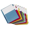 Poly Expanding Pocket Index Dividers, 8-Tab, Letter, Multicolor, per Pack